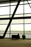 机场就座 库存照片