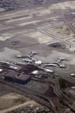 机场拉斯维加斯 免版税库存照片