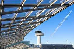 机场控制台 免版税库存照片