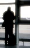机场旅行 免版税库存照片