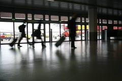 机场旅行 免版税图库摄影
