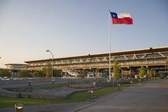 机场智利de圣地亚哥 免版税库存照片