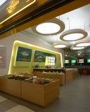 机场果子大厅界面珠海 库存图片