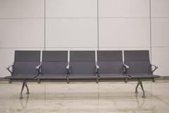机场椅子 库存照片