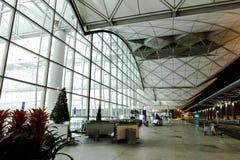 机场洪国际kong 免版税库存图片