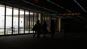 机场现出轮廓记录 影视素材