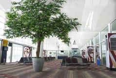机场等待的休息室 库存图片