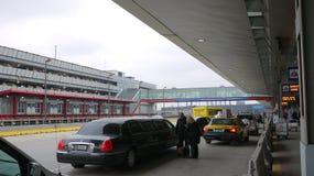 机场芝加哥野兔国际o 免版税库存照片