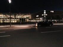 机场误码率柏林Schönefeld默西迪丝CLK前面/边 图库摄影