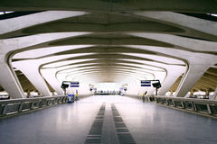 机场走道 免版税库存图片
