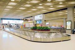 机场转盘 免版税库存照片