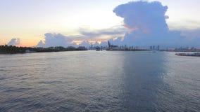 机场迈阿密4k 股票视频