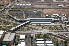机场连接 免版税库存照片