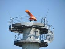 机场雷达在法兰克福 免版税库存照片
