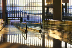 机场香港 库存照片