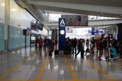 机场香港 免版税库存图片