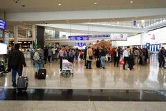 机场香港 免版税库存照片
