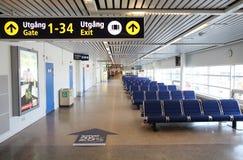 机场马尔摩 免版税库存照片