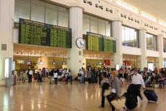 机场马拉加 库存照片