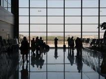 机场离开休息室 免版税图库摄影