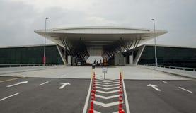 机场主楼, KLIA2 免版税库存照片