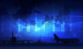机场 向量例证