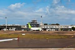 机场alegre巴西执行重创的波尔图里约sul 图库摄影