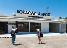 机场boracay 库存照片