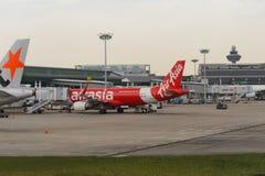机场changi新加坡 免版税库存图片