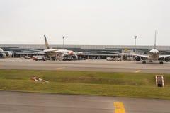 机场changi新加坡 图库摄影