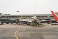 机场changi新加坡 库存照片