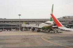 机场changi新加坡 库存图片