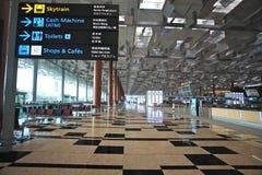 机场changi 免版税库存图片