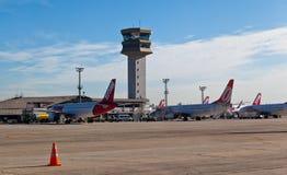 机场congonhas保罗圣地 免版税库存照片
