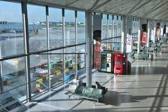 机场heathrow伦敦 免版税库存图片