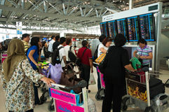 机场suvarnabhumi 图库摄影