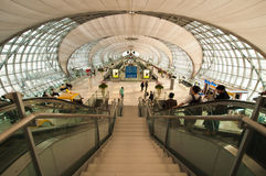 机场suvarnabhumi 免版税库存图片