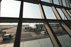 机场suvarnabhumi 免版税图库摄影