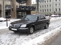 机构莫斯科新闻tass冬天 免版税库存图片