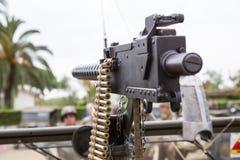 机枪 免版税库存图片