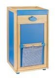 机柜木存贮的玩具 免版税图库摄影