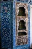 机柜被镶嵌的母亲珍珠 图库摄影