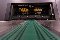 机械专业工业打印机设备机制的机器 免版税图库摄影