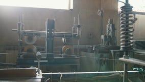 机械制造的-综合增强-被转动的机制在化学产业的 影视素材