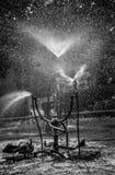 机械喷泉 库存照片