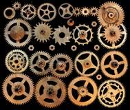 机械嵌齿轮链轮 免版税库存照片