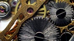 机械手表,连续齿轮机制  影视素材