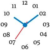 机械时钟的传染媒介例证 皇族释放例证
