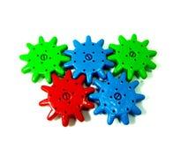 机械有效的玩具轮子 图库摄影