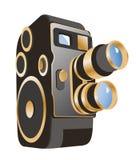 机械电影摄影机 库存图片